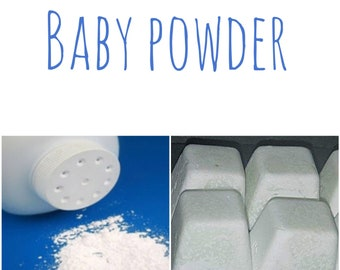 Highly scented baby powder wax melts
