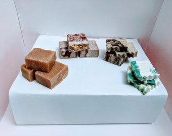 Soap samples, cold process soap, bar soap, bath and body, hand soap,handmade soap, artisan soap