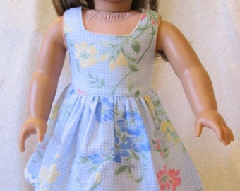 "Spring Sun Dress for the American Girl Doll or any other 18"" Doll – On Sale"