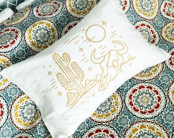 Dusk in the Desert : Queen Size Pillowcase