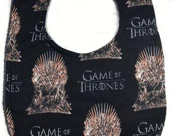 Game of Thrones - Baby Bib - Geek Gift - Baby Shower Gift - Handmade