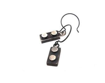 1×2 Building Block Earrings