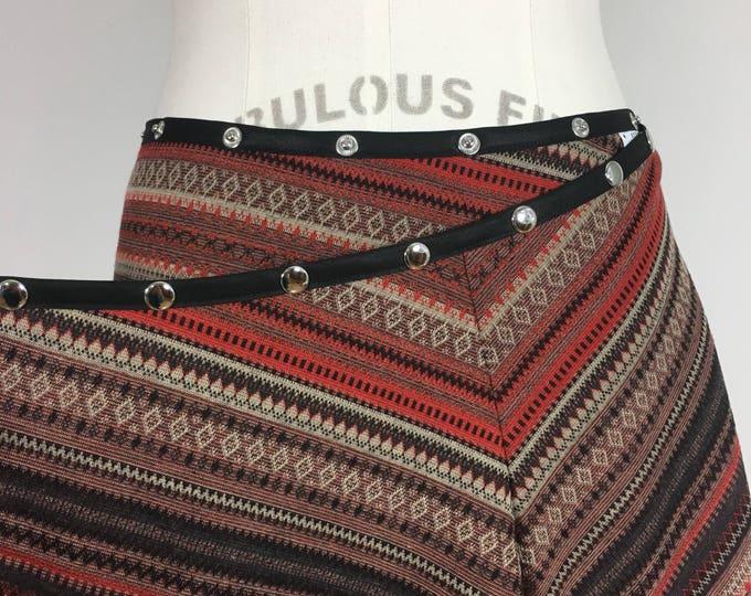 Snap Skirt, by Erin MacLeod, Snap Around Skirt, Fall Colors, Adjustable Skirt, Wrap Skirt