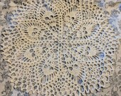 Skull Doily Crochet Lace Halloween Wiccan Goth Pirate