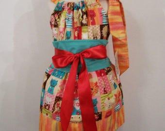 Girls Kitty Pillowcase Party Dress,Girls Dress, Girls Clothing, Baby Girl Dress, Toddler girl Dress, Big Girl Dress, handmade, USA , #217