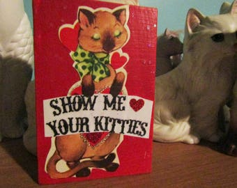 Show Me Your Kitties #2 {Original Collage}