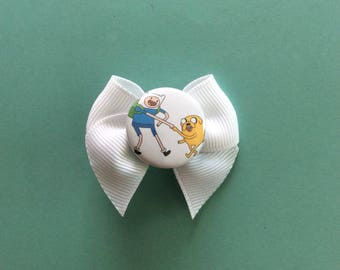Adventure Time Hair Bow