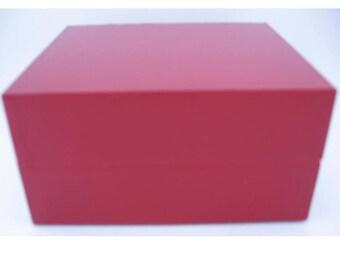 Empty Baccarat Box