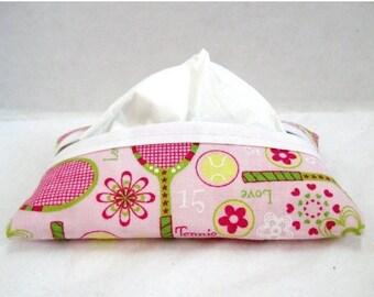 Flash Sale Tennis Tissue Cozy Pink Tissue Holder LIMITED