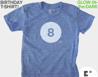 8th Birthday Shirt - Boys & Girls Unisex TShirt