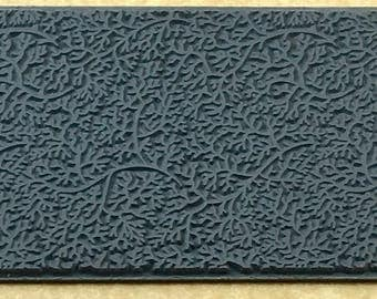 BRANCHING OUT Rubber Texture Tile Mat Stamp for Clay inks Paint Soap   TTL419