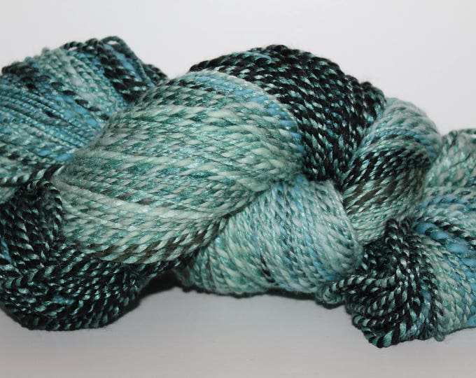 Handspun Merino/Bamboo/Silk Yarn.  2ply DK Weight. Super Soft. 7.4oz/400yards