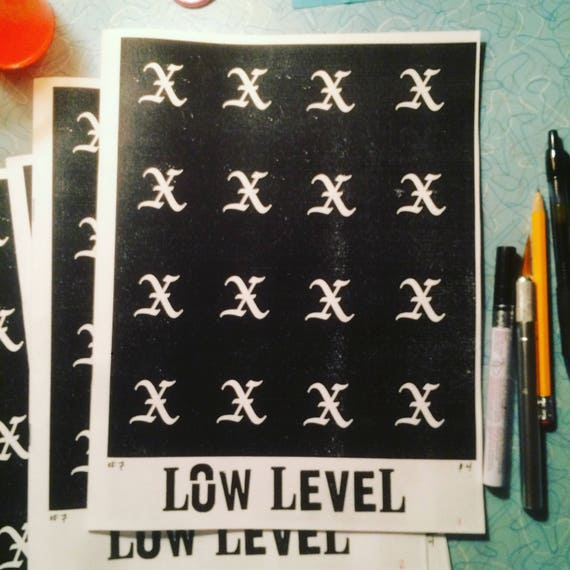 Low Level #7 Zine