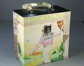 45 Record Case 7-inch Vinyl - Handmade from Recycled Record - Goodbye Yellow Brick Road Elton John