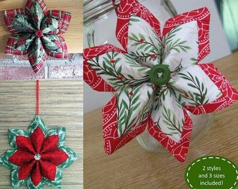 Holiday Stars - From Poor House Quilts Designs - 8.50 Dollars