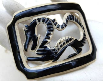 Vintage Dragon Celluloid REuse Buckle Supply