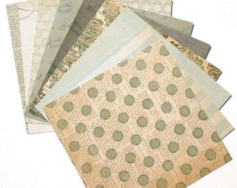 50% OFF - Portobello Road - 6x6 MME Lost & Found Paper Pack