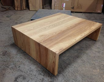 Ash Waterfall Coffee Table
