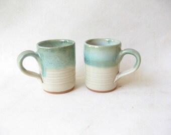 Espresso Cups Unique Set of 2, Demitasse, Set of 2 Espresso Cups