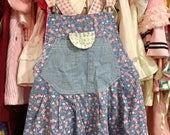 Floral Overalls 4T