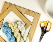 jack and jill ... handspun yarn set, weaving creative yarn bundle, hand spun, hand dyed yarn, handspun art yarn