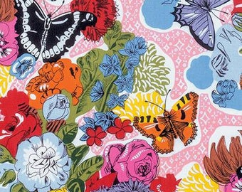 Juliana Horner Fabric, Fast Friends, Sparkle Bed, Day Time, cotton quilting fabric -  YARD