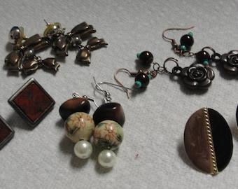 Clearance Lot of Great Pierced Earrings