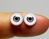 Doll eyes 8mm AD SM color Driftwood