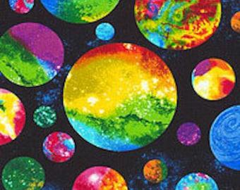 CUSTOM Reusable Cloth Menstrual Pad  - You Pick Backing - Marble Planets