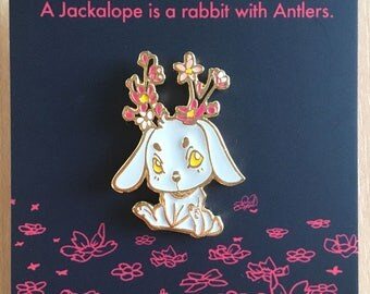 Jackalope - Enamel Pin