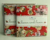 SALE  2 Packs 5 inch charm pack LINEN and LAWN Penny Rose Fabric