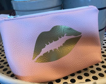 Love the Lips Faux Leather Bag