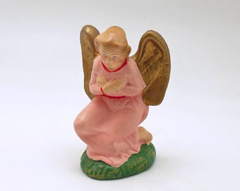 Vintage Christmas Angel Figurine Nativity Christmas Decoration
