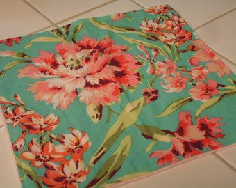 Bliss Bouquet Burp Cloth 12 x 13 READY TO SHIP