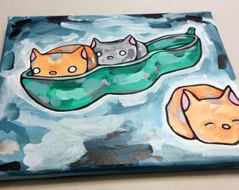PEAPOD CATS!