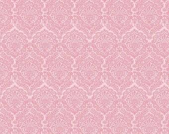20%OFF Riley Blake Designs Garden Girl by Zoe Pearn - Damask Pink