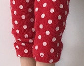 Red And White Dots...Capri Pants For Blythe...