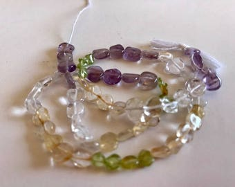 Fluorite Beads-Gemstone Destash-Fluorite Bead Strand