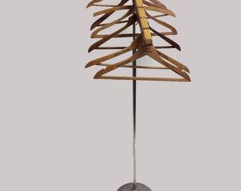 Vintage Industrial Hanger Standing Adjustable Coat Rack