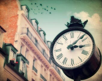 Paris Photography, Paris street photography, Fine art photography, Paris art, Paris decor, prints clocks, steampunk home decor