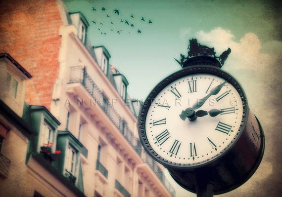 Paris Photography, Paris street photography, Fine art photography, Paris art, Paris decor, prints clocks, steampunk home decor