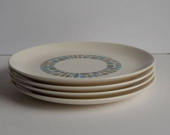 Temporama 10 Inch Dinner Plates Set of 4
