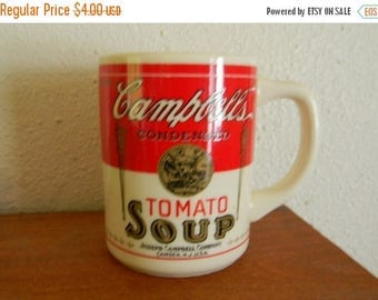 Close Out Sale Vintage Cambpell's Tomato Soup Mug