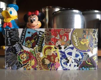 Pin Trading Disneyland Map Wallet