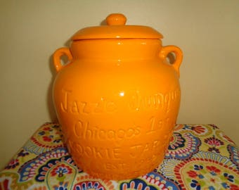 Unique Advertising Jazz'e Junque Chicago Turnabout Cookie Jar by Kathy Wolfe Limited Edition FREE SHIPPING