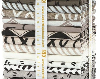 Sale! Arroyo Neutral 20 Fat Quarter Bundle Erin Dollar Kaufman Fabrics FQ-1241-20