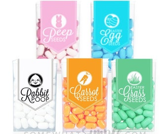 Easter Tic Tac Labels