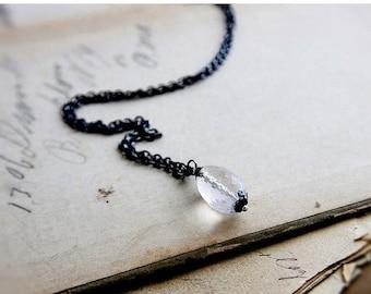 Summer Sale SALE, Crystal Quartz Necklace, Crystal Necklace, Crystal Pendant, Crystal Quartz, Quartz Necklace, Quartz Pendant, Gemstone Neck
