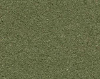 Olive 35/65 Wool Blend Felt 12x18