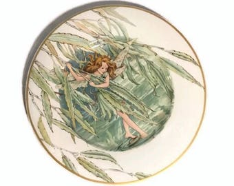 Heinrich flower fairy plate - Cicely Mary Barker - Willow fairy - 1983 - Villeroy and Bosc